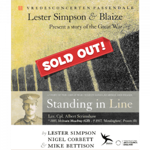Standing in Line - SOLD OUT