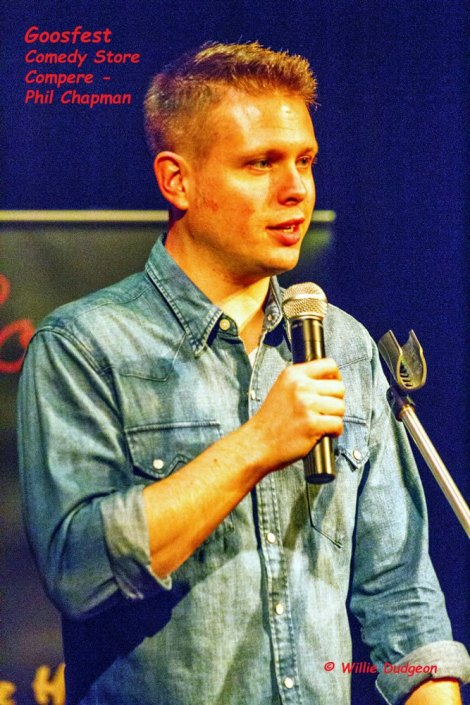 Comedy Store Compere Phil Chapman