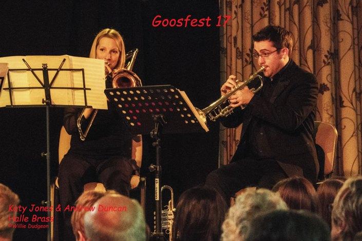 Katy Jones and Andrew Duncan Halle Brass