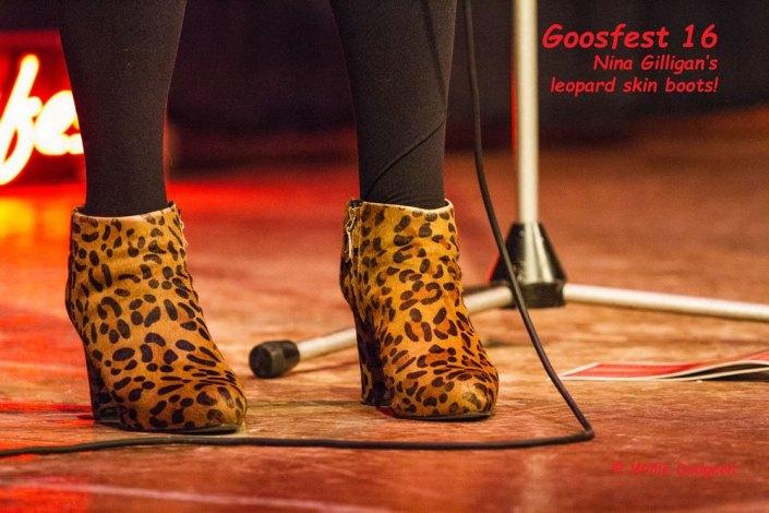 Nina Gilligan's Kitten boots