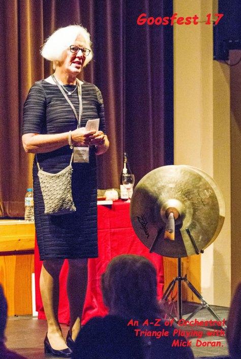 Janet Ollier introduces Mick Doran