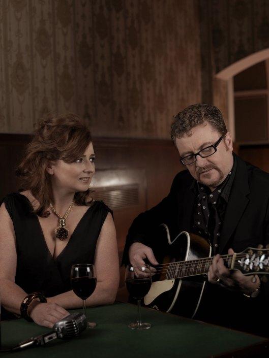Martin Taylor and Alison Burns