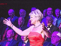Froncysylite Male Voice Choir and Linda Richardson (guest soprano)