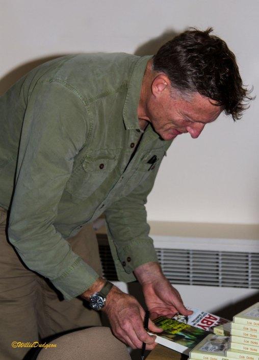 Benedict Allen book signing