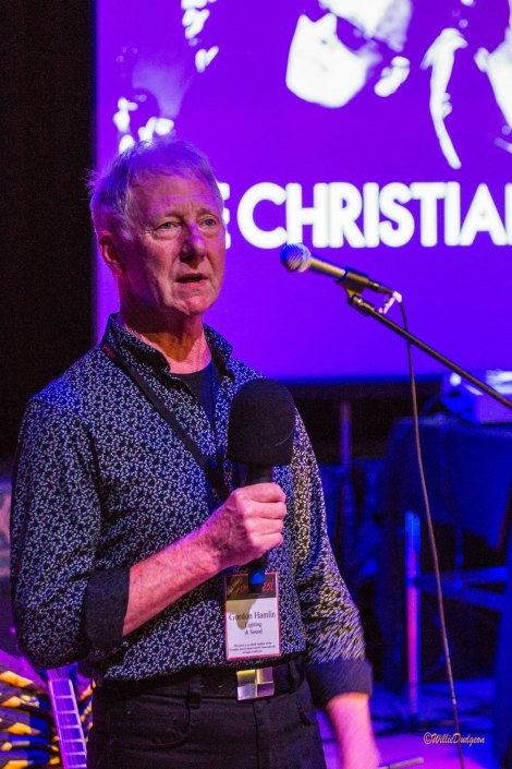 The Christians @ Goosfest 2018 - The Golden Goose award for Best introduction at Goosfest 18 - Gordon Hamlin for the Christians